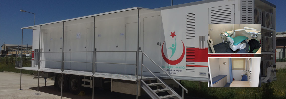 Trailer Clinic for Ministry of Health